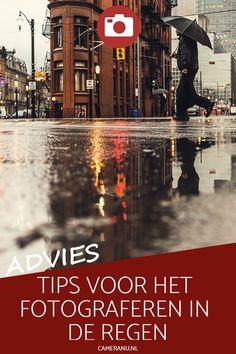 Blijf jij thuis wanneer het regent? Dat is nergens voor nodig... Regenachtige omstandigheden kunnen je hele mooie foto's opleveren. Laat je inspireren, pak je regenjas en ga naar buiten om foto's te maken in de regen! | #regen #regenfotografie #regenhoezen #fotografie #cameranu.nl #cameranu_nl