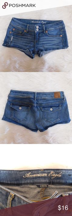 American Eagle AE Jean Shorts - Size 4 Great condition! No signs of wear! American Eagle Outfitters Shorts Jean Shorts