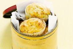 Cheesy vegie muffins