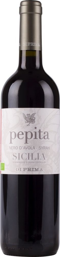Vino PEPITA rosso biologico Di Prima Sicilia DOC 2013 cl 75