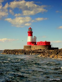 Longstone Lighthouse, Farne Islands, Northumbria, England
