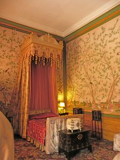 Belton House ~ The Chinese Room - used in filming of Jane Eyre as Parisian Hotel