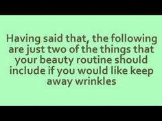 Anti Wrinkle Skin Care: Lessening the Signs of Aging Easily http://www.bestfacecreamforwrinkles.com