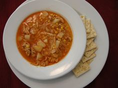 Chicken Stew- Seeing as how this is the best time of the year, we don't want to be sweating away in the kitchen when our family comes to pay call! This soup actually tastes better if left in the fridge a day or two so that the flavors have time to blend. In other words, make this ahead of time, and you'll have a delicious and comforting meal come Christmas time!