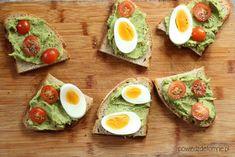 Przepisy na zdrowe pasty kanapkowe - powiedz dietom nie Gluten Free Recipes, Avocado Toast, Free Food, Food And Drink, Bob, Pasta, Breakfast, Morning Coffee, Bob Cuts