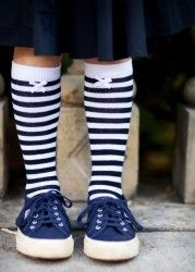 Lovely Stripe Socks!  The perfect style Accessory!