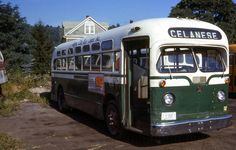 CUMBERLAND,MD. QUEEN CITY BUS LINES OLD LOOK GMC