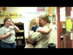 Please watch.  Pray for all these men and women, and thank them for the sacrifice they make for us to have the freedom we do.  The Best Surprise Military Homecomings: PART TWO