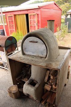barrel rocket pizza oven