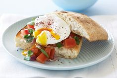 Turkish toast with poached egg main image