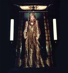 Glammy goddess Biba-style.