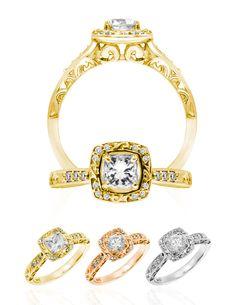 Hawaiian Wedding Ring Kapili Pua: Available in / Yellow, Rose, White, and Platinum. Round or Princess from Center Stone is available. Hawaiian Wedding Rings, Heirloom Rings, Wedding Trends, Wedding Ideas, Custom Wedding Rings, Pua, Jewelry Companies, Travel Couple, Bracelet Watch