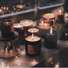 Any type of good smelling candles. aesthetic cozy why do i like candles so much lol on We Heart It Scented Candles, Candle Jars, Soy Candle, Cozy Aesthetic, Brown Aesthetic, Autumn Aesthetic Tumblr, Witch Aesthetic, Aesthetic Vintage, Autumn Scenery