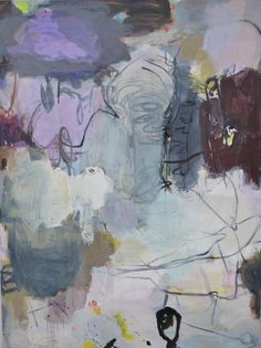 Artist: Jette Segnitz, www.segnitz.dk Abstract paintings.