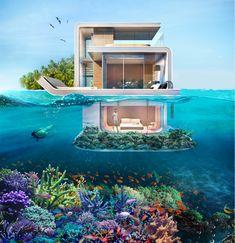 Dubai nos deja boquiabiertos con sus espectaculares villas flotantes