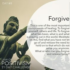 Law Of Positivism - Forgiveness is a powerful action and intentions that you hold the power over. Spiritual Wisdom, Spiritual Growth, Spiritual Awakening, Spiritual Gangster, Positive Thoughts, Positive Quotes, Positive Vibes, Positive Energie, Under Your Spell