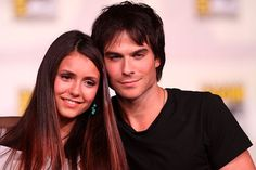 """Nina Dobrev return to The Vampire Diaries Season 8 is starting to cause rift between Ian Somerhalder and Nikki Reed. Dobrev and Somerhalder will have romantic scenes in the upcoming season and this has stressed out the former """"Sleepy Hollow"""" actress. Nina Dobrev Vampire Diaries, Vampire Diaries Seasons, The Vampire Diaries, Vampire Diaries The Originals, Ian Somerhalder, Delena, Romantic Scenes, Love Scenes, Daniel Gillies"""