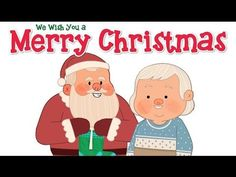 """This Super Simple version of """"We Wish You A Merry Christmas"""" teaches some fun actions (clapping, jumping, stomping, and whispering.) It's a great way to introduce this classic Christmas song to young learners. Merry Christmas Song, Classic Christmas Carols, Best Christmas Songs, Xmas Songs, Christmas Program, Christmas Music, Christmas Videos, Holiday Song, Christmas Songs For Toddlers"""