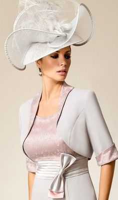 Sophisticated Mother of the Bride outfit by Zeila.