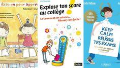 3 livres destinés aux enfants pour leur apprendre à apprendre (du primaire au lycée)