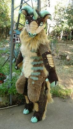 "Kirin ""furry"" costume"