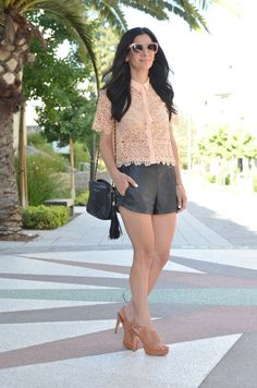 @AnnetteVintage is stunning in #willowclay #summer #fashion #shorts www.willowclay.com
