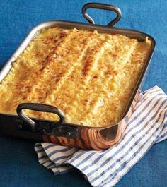 Perfect for the colder months//Daniel Boulud's Chicken, Wild Mushrooms and Fontina Cheese Lasagna Recipe - ELLE DECOR