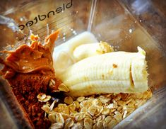 ADHD Smoothie Recipe ½ Cup of oats 1 Tbsp. of Raw Cocoa Powder 2 Tbsp. of unsweetened Almond Butter 1 Cup of Almond Milk (can substitute with rice milk or coconut milk) 1 Full ripened banana 1 Cup of Ice.