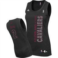adidas Cleveland Cavaliers Kyrie Irving Women's Static Fashion Swingman Jersey