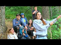 ***WAnt to make a dirtbike path like them**EPIC FAMILY ROPE SWING! - YouTube
