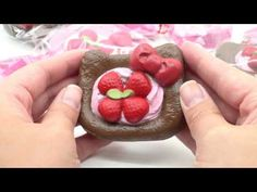 brown Hello Kitty pastry squishy charm - Food Squishies - Squishies - kawaii shop modeS4u