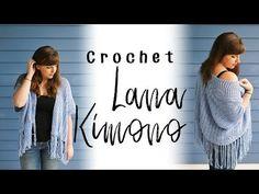 Crochet Lana Kimono - Sewrella