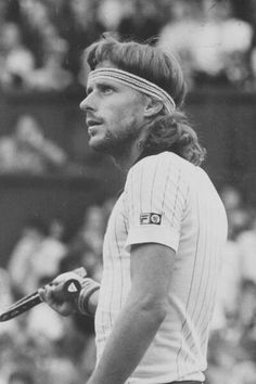 It's not everyday that Bjorn gets pissed. Tennis Gear, Play Tennis, Jimmy Connors, Historical Association, Tennis Warehouse, Vintage Tennis, Kids Soccer, Wimbledon, Tennis Players