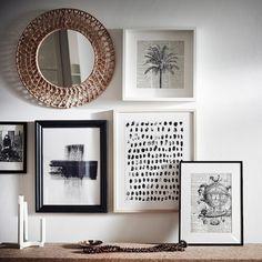MISSVEDEN Mirror - rattan - IKEA...