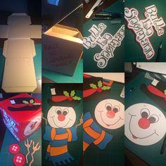 Roll a snowman dice
