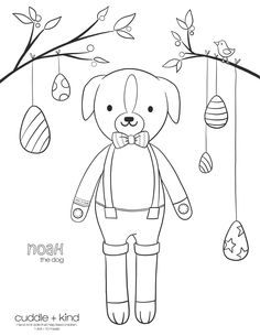 cuddle and kind coloring pages - - Image Search Results Easter Bunny Colouring, Bunny Coloring Pages, Coloring Sheets For Kids, Coloring Books, Kids Colouring, Colouring Sheets, Cute Kids Crafts, Fun Projects For Kids, Holiday Crafts For Kids