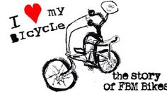 """I Love My Bicycle: The Story of FBM""  VIDEO: http://bmxunion.com/daily/i-love-my-bicycle-the-story-of-fbm/  #BMX #bike #bicycle #FBM #style #documentary"
