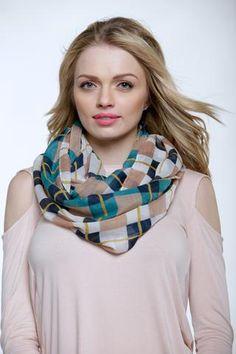Checkers infiniti scarf