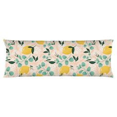 Lovely Lemons Body Pillow