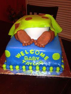 Baby Shower Butt Cake