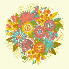 Spring Bloom Print / Jolby & Friends