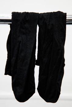 Long Basic Black Socks #A6251772 #A6251773#A6251774#A6251775#A6251776