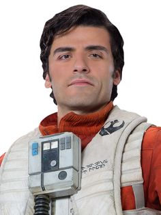 Poe Dameron was a human male who served as a pilot in the Resistance approximately thirty years after the Battle of Endor. A leader in the Resistance's fight against the First Order and a member of Black Squadron, he flew under the callsign of Black Leader while commanding a squadron of T-70 X-wing fighters in the company of his loyal astromech droid, BB-8.