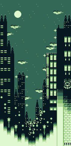 #pixelart #future #city
