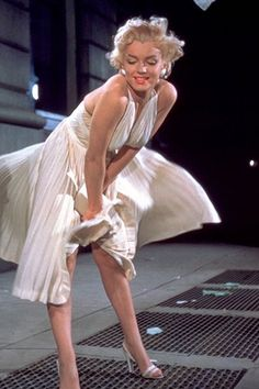 Marilyn Monroe in The Seven Year Itch 1955