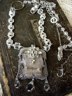 Victorian Sterling Silver Coin Purse | by Diana Frey