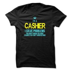 Make this awesome proud Cashier: I am a CASHIER as a great gift Shirts T-Shirts for Cashiers