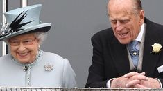 The Queen and Duke of Edinburgh at the Derby in 2015