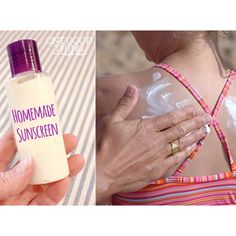 How To Make Your Own Homemade Sunscreen!