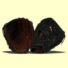 Nokona Buckaroo Black Softball Series: BS1350CBLK Softball Gloves, Softball Bats, Softball Players, Fastpitch Softball, Slow Pitch, Better Baseball, Black Series, American Made, Pattern Making